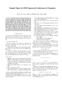 Sample Ieee Paper Format – Floss Papers regarding Template For Ieee Paper Format In Word