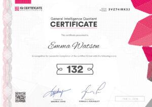 Sample Iq Certificate – Get Your Iq Certificate! regarding Iq Certificate Template