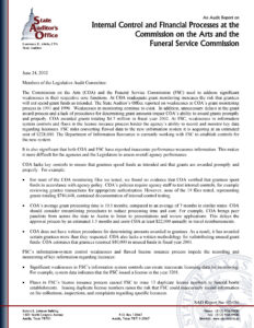 Sample Nternal Financial Audit Report On Statements An Tax pertaining to Internal Control Audit Report Template