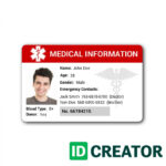 Sample Of Id Card Template   Sample Templates In Sample Of Id Card Template