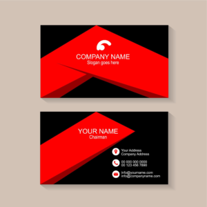Sample Of Visiting Cards Free Modern Business Card Templates inside Designer Visiting Cards Templates