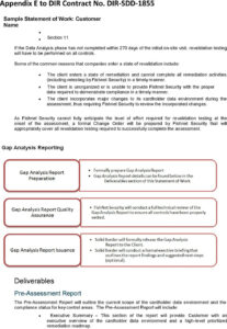 Sample Statement Of Work – Pdf within Pci Dss Gap Analysis Report Template