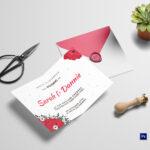 Sample Wedding Invitation Card Template Throughout Sample Wedding Invitation Cards Templates