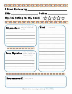 Sandwich Book Report Printable Template Free For Sandwich pertaining to Sandwich Book Report Template