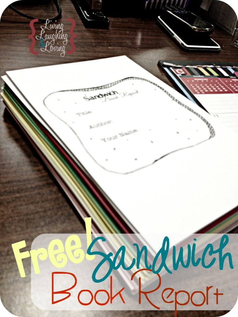 """Sandwich Book Report"""" Template For A Book About A Famous In Sandwich Book Report Template"""