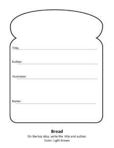 Sandwich Book Reportheather Turner Via Slideshare   Book with regard to Sandwich Book Report Template