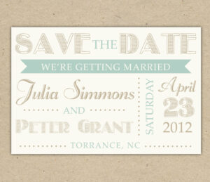 Save The Date Cards Templates For Weddings with regard to Save The Date Cards Templates