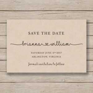 Save The Date Printable Template – Editableyou In Word within Save The Date Template Word