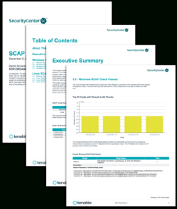 Scap Audit Report – Sc Report Template | Tenable® in Security Audit Report Template