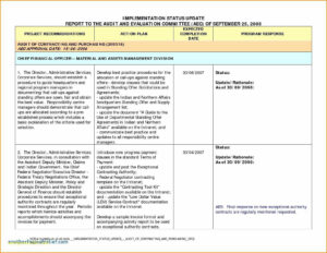 Schedule Template Project Management Report Excel Or Pany with Project Implementation Report Template