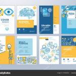 School Brochure Designs | Set Brochure Design Templates Throughout School Brochure Design Templates