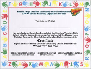 School Certificate Samples Sign In Sheets For Employees For regarding Vbs Certificate Template