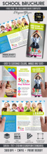 School – Free Psd Tri-Fold Psd Brochure Template On Behance throughout Play School Brochure Templates