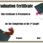 School Graduation Certificates | Customize Online With Or within 5Th Grade Graduation Certificate Template