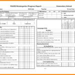 School Progress Report Template Doc Elementary Ample Pdf Throughout High School Progress Report Template