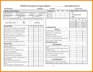 School Progress Report Template Doc Elementary Ample Pdf Throughout High School Progress Report Template
