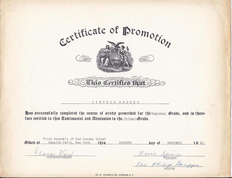 School Promotion Certificate Template | Emetonlineblog Inside Promotion Certificate Template