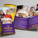 School Trifold Brochure #trifold#school#templates#brochure Regarding Tri Fold School Brochure Template