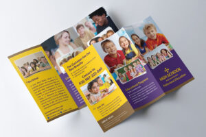 School Trifold Brochure #trifold#school#templates#brochure throughout Tri Fold School Brochure Template