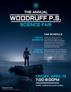Science Fair Event Poster Template – Venngage inside Science Fair Banner Template