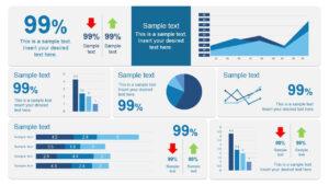 Scorecard Dashboard Powerpoint Template | Pm | Dashboard in Project Dashboard Template Powerpoint Free