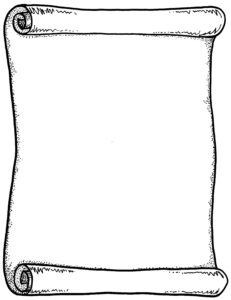 Scroll Drawing Template | Free Download Best Scroll Drawing in Scroll Certificate Templates