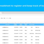 Service Sales Report Template – Sheetgo Inside Sales Lead Report Template