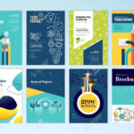 Set Of Brochure Design Templates On The Subject Of Education,.. Pertaining To School Brochure Design Templates