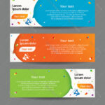 Set Of Web Banner Templates In Free Website Banner Templates Download
