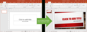 Set The Default Template When Powerpoint Starts | Youpresent inside Powerpoint 2013 Template Location