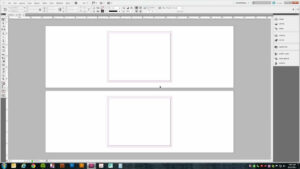Setting Up A Trifold Brochure In Adobe Indesign (Cs5) inside Gate Fold Brochure Template Indesign