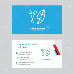 Shield Business Card Design Template, Visiting For Your Company,.. throughout Shield Id Card Template