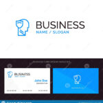 Shield, Secure, Male, User, Data Blue Business Logo And Throughout Shield Id Card Template
