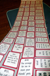 Shuffle Up & Deal: A Deck Of Cards Book | Crafting Thru in 52 Things I Love About You Deck Of Cards Template
