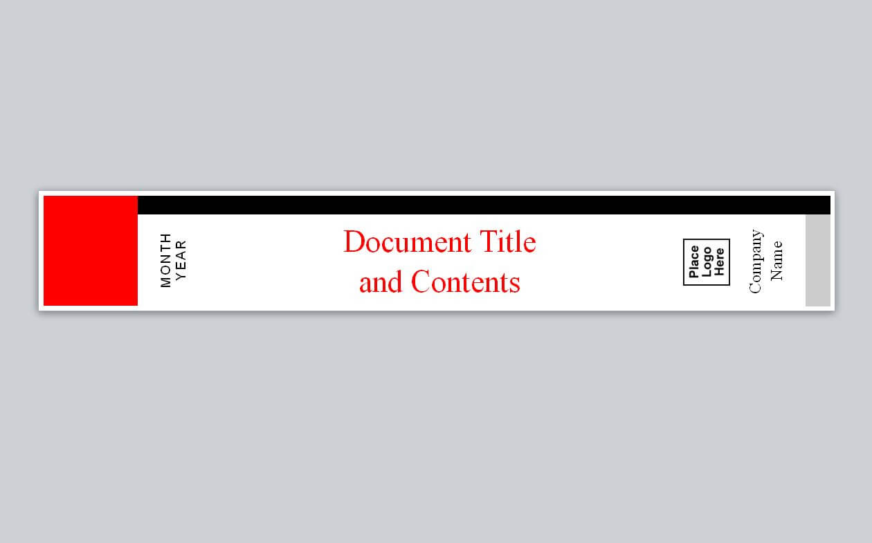 Similar To Avery Binder Spine Template Within Binder Spine Template Word