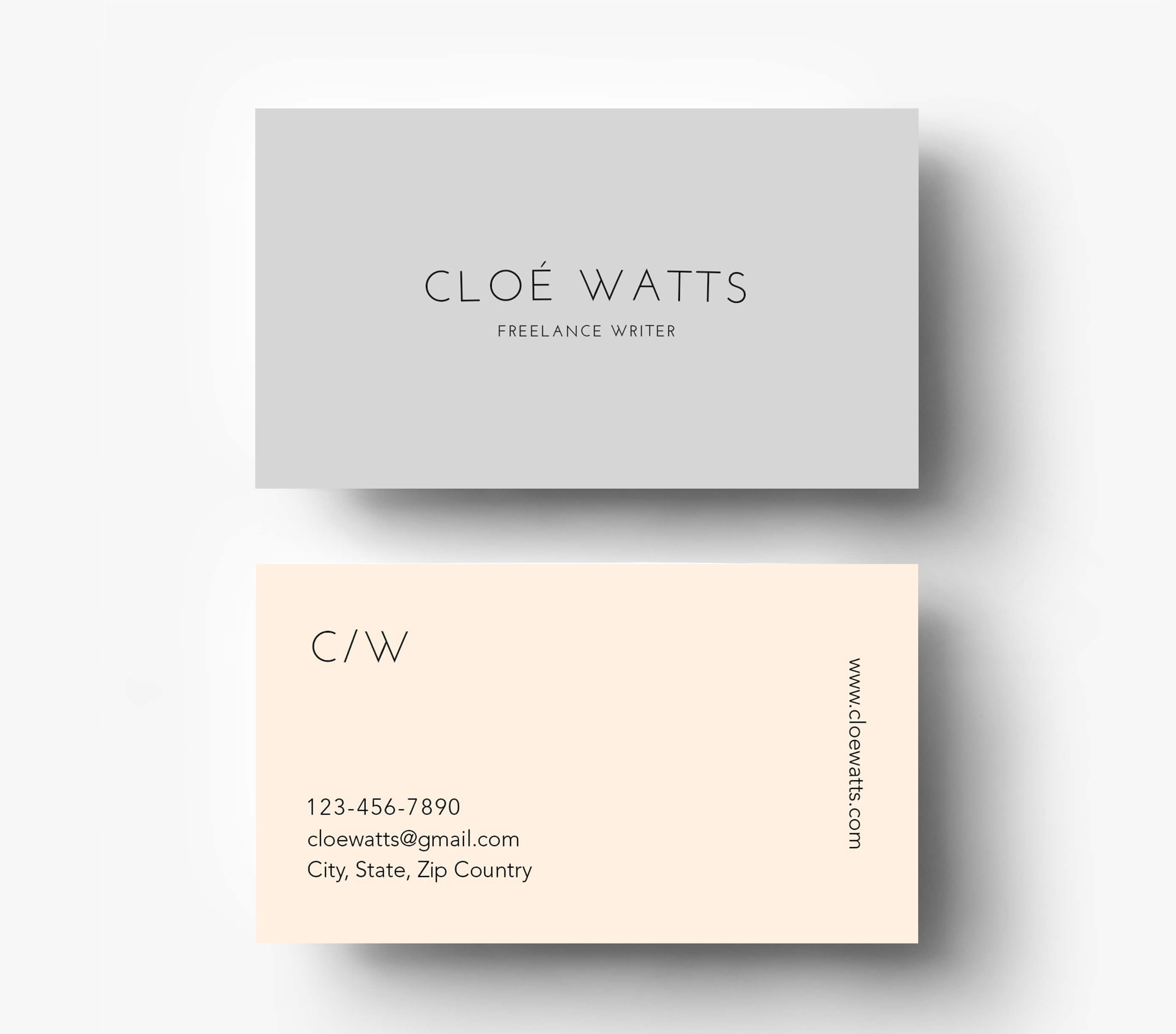 Simple Business Card Maker Psd Professional Template Cheap Intended For Business Card Maker Template