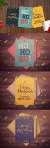 Simple Christmas Card Template — Adobe Photoshop, Adobe pertaining to Adobe Illustrator Christmas Card Template