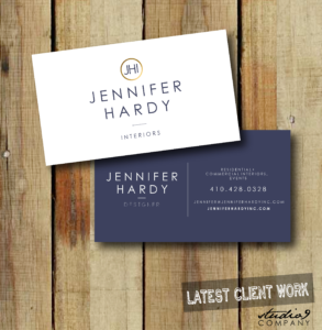 Simple + Classic Business Cards, Designed For Jennifer Hardy with regard to 2 Sided Business Card Template Word