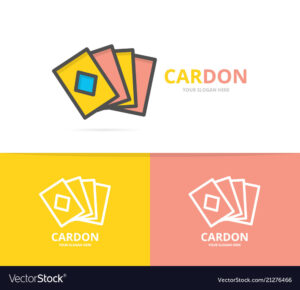 Simple Playing And Game Cards Logo Design Template pertaining to Playing Card Design Template