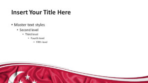 Singapore Flag Powerpoint Template – Presentationgo within Patriotic Powerpoint Template