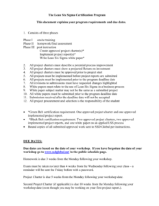 Six Sigma Project Report Template pertaining to White Paper Report Template