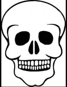 Skull Templatesolitairemiles.deviantart On in Blank Sugar Skull Template
