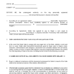 Sle Printable Closing Disclosure Conditional Release 4 In Blank Legal Document Template