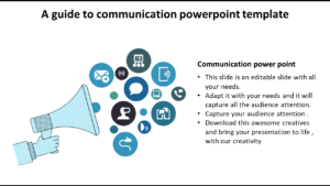 Slideegg | Communication Powerpoint Template-A Guide To inside Powerpoint Templates For Communication Presentation