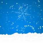 Snow Powerpoint - Free Ppt Backgrounds And Templates throughout Snow Powerpoint Template