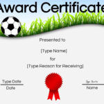 Soccer Award Certificate Templates Free Word Stock Photos Hd Intended For Soccer Award Certificate Templates Free
