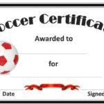 Soccer Award Certificates Template   Kiddo Shelter   Blank With Regard To Soccer Certificate Template