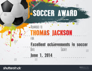 Soccer Certificate Template Word | Certificatetemplateword in Soccer Certificate Templates For Word