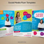 Social Media Flyer Template   Download Psd File Here: Graphi With Regard To Social Media Brochure Template
