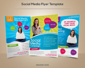 Social Media Flyer Template | Download Psd File Here: Graphi with regard to Social Media Brochure Template